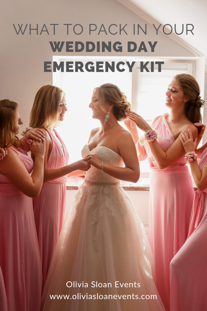 f20c58ed0549 What to pack in your wedding day emergency kit for the bride groom and bridal  party